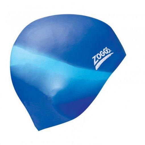 Gorro Silicona Zoggs Multi Azul-Celeste