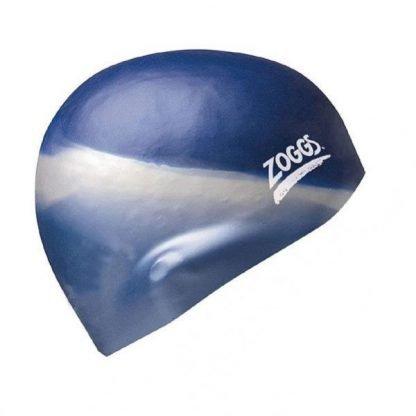 Gorro Silicona Zoggs Multi Azul-Gris