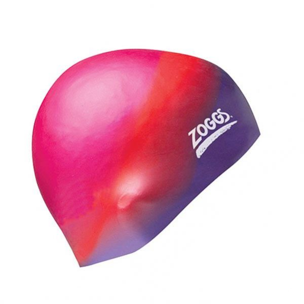 Gorro Silicona Zoggs Multi Rosa-Lila