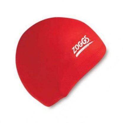 Gorro Silicona Zoggs Rojo