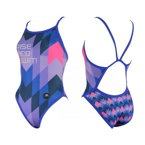 Bañador Turbo Mujer Rise and Swim