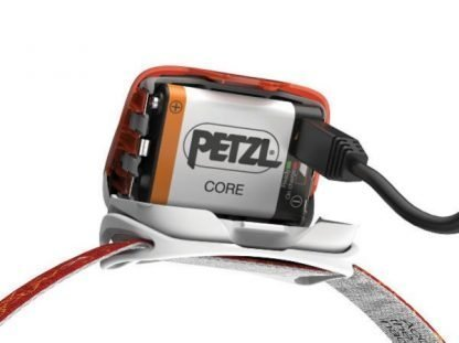 Batería Frontal Recargable PETZL CORE Cable USB