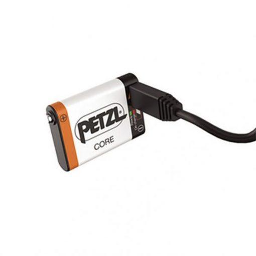 Batería Frontal Recargable PETZL CORE USB