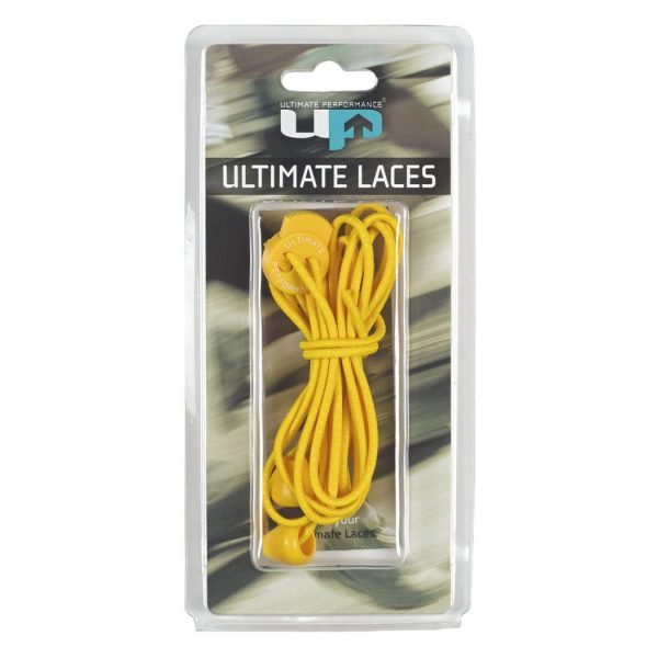 Cordones Elásticos Ultimate Performance Laces Amarillo