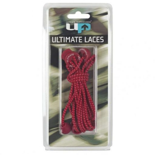 Cordones Elásticos Ultimate Performance Laces Rojo
