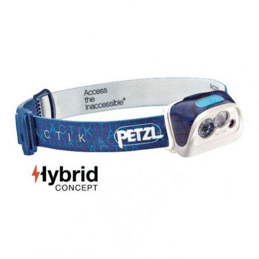 Linterna Frontal PETZL ACTIK Azul