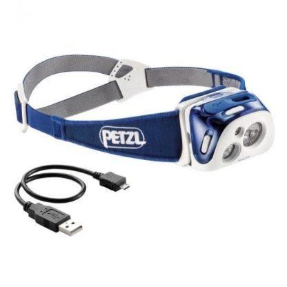 Linterna Frontal PETZL REACTIK Azul