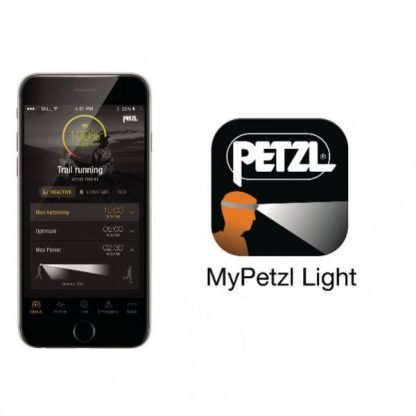 Linterna Frontal PETZL REACTIK + Bluetooth