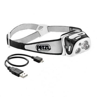 Linterna Frontal PETZL REACTIK + Negro