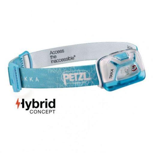 Linterna Frontal Petzl Tikka Azul