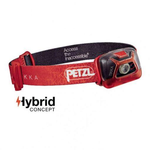 Linterna Frontal Petzl Tikka Rojo