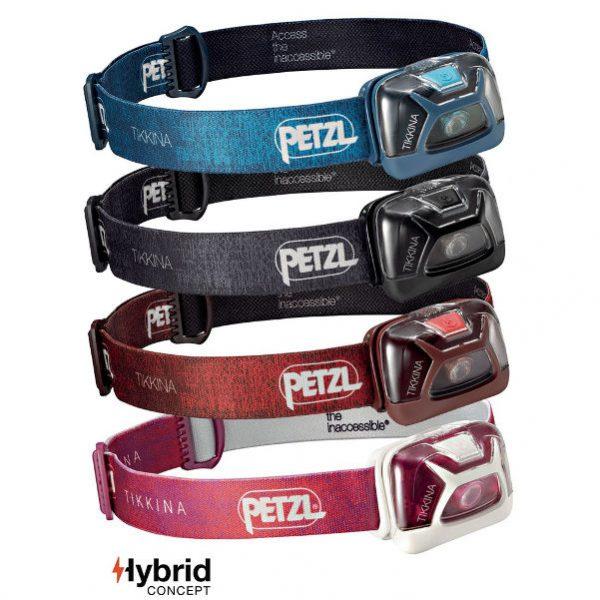 Linterna Frontal Petzl Tikkina 2017 Hybrid