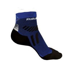 calcetines trail raidlight seamless azul