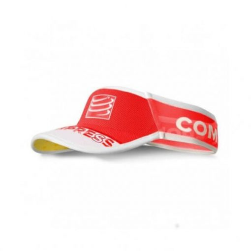Visera Compressport Ultralight Rojo