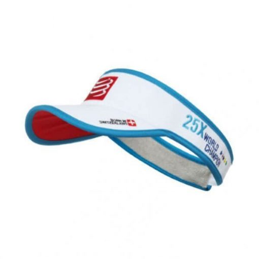 Visera Compressport Visor Cap Blanco
