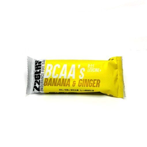 Barrita Energética 226 Endurance Bar BCAAs Banana & Ginger