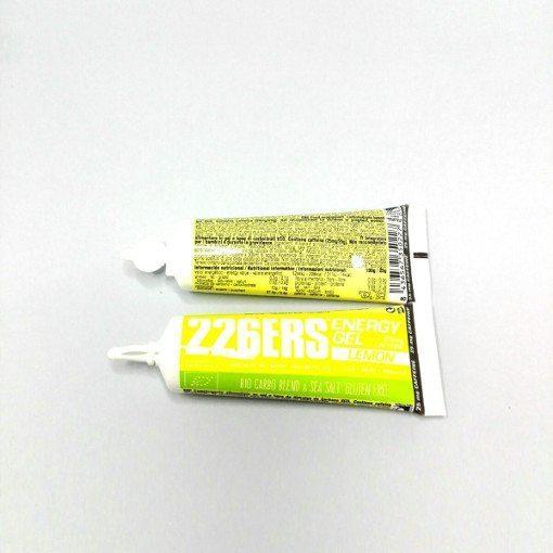 Geles Energéticos 226ERS BIO 25gr Energy Gel Limón 25mg de Cafeína
