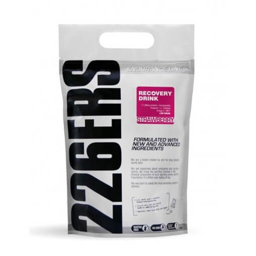 Recuperador 226ERS Recovery Drink 1kg Strawberry Fresa