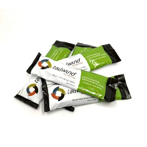 Sticks Tailwind Nutrition Endurance Fuel Green Tea Buzz con Cafeína