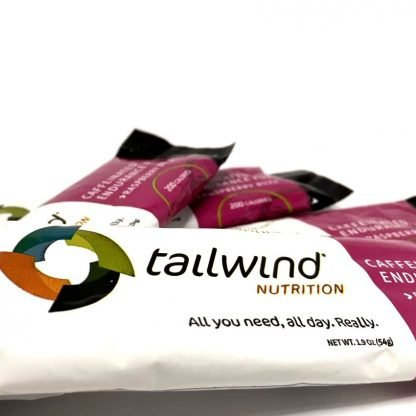 Sticks Tailwind Nutrition Endurance Fuel Raspberry Buzz con Cafeína