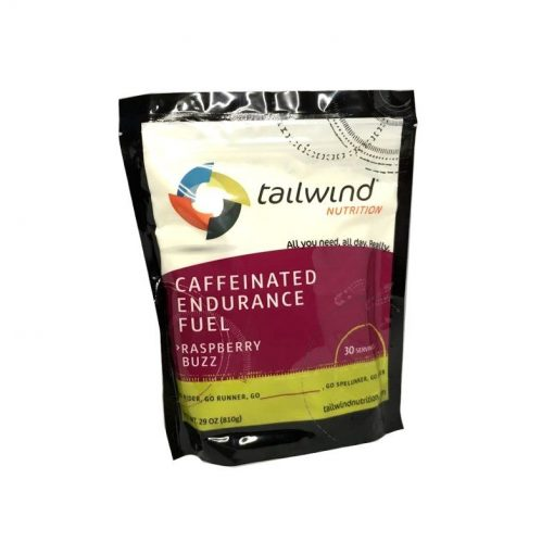 Tailwind Nutrition Caffeinated Endurance Fuel 810g con Cafeína Fuel Raspberry Buzz