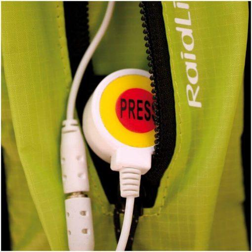 Chaleco RaidLight kit led top bolsillo