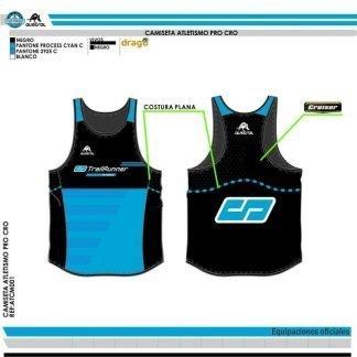 Camiseta Técnica Atletismo Austral CD TrailRunner Store