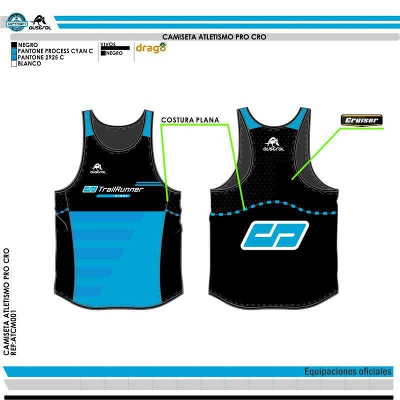 d9f05b0e Camiseta Técnica Atletismo Austral C.D. TrailRunner Store