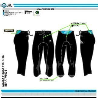 Malla Pirata Running Austral CD TrailRunner Store