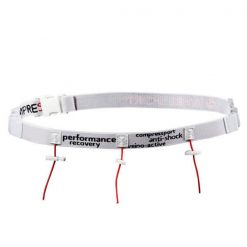 Portadorsal Compressport Race Belt Blanco