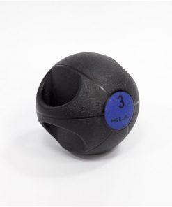 balón medicinal de doble agarre
