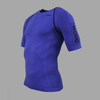 Camiseta compresiva Wong Azulón
