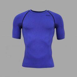 Camiseta compresiva Wong Azul
