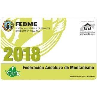 licencia federativa de montaña 2018