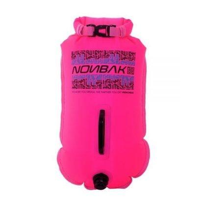 Boya natación Nonbak rosa 28L