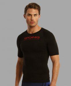 Camiseta Wong Monka negro 24102