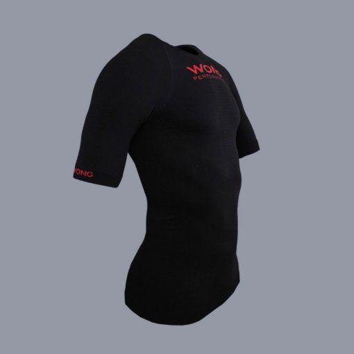 Camiseta Wong Monka Negro Compresión
