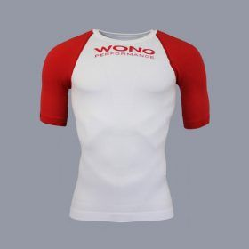 Camiseta Wong Monka blanco frontal