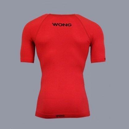 Camiseta Wong Monka roja compresión