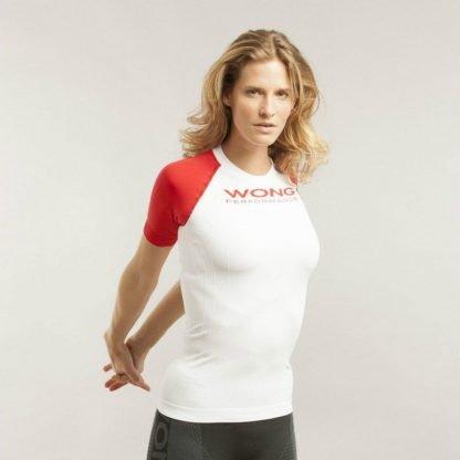 Camiseta deportiva elástica Wong 24102