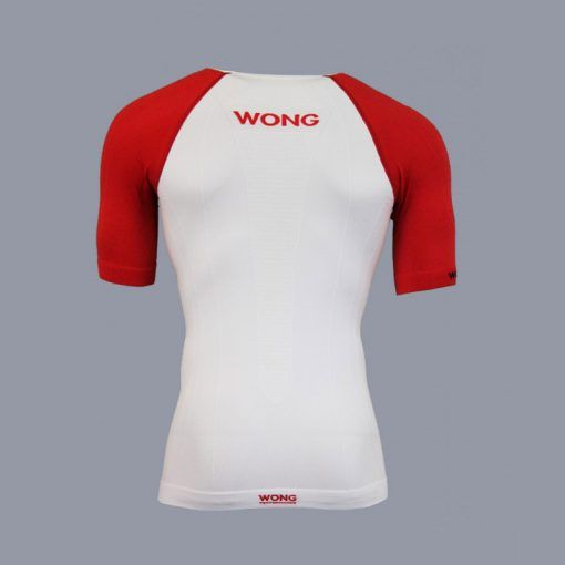Camiseta trail running Wong Monka trasera