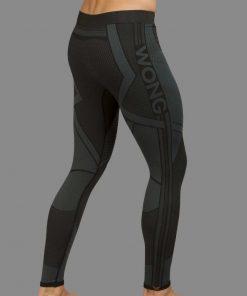Malla larga Wong gris oscuro
