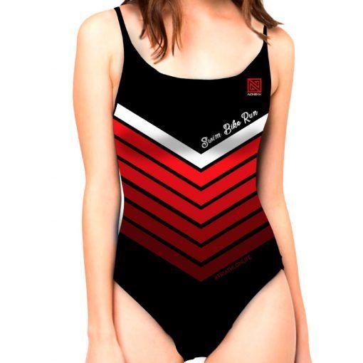 Bañador Nonkak SBR Red Mujer