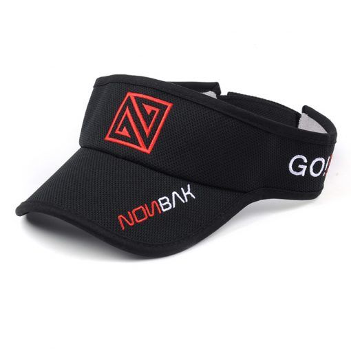 Visera Nonbak negro rojo