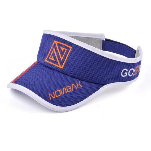 Visera deportiva Nonbak azul royal