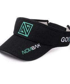 Visera deportiva Nonbak negro verde
