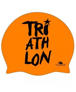 Gorro silicona Turbo Triathlon narnaja