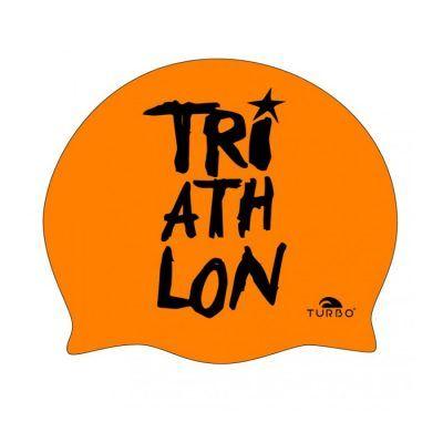 Gorro silicona Turbo Triathlon narnaja