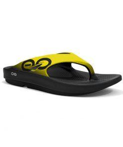 Sandalias de recuperación OOfos OOriginal amarillo