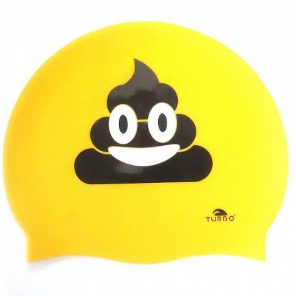 Gorro natación Turbo happy poo